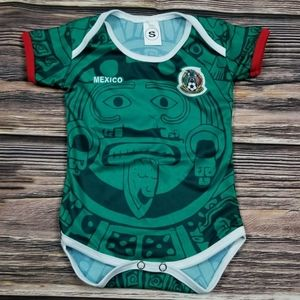 Mexico baby Soccer ⚽ jersey bodysuit